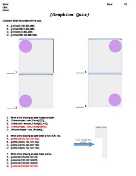 2D Graphics Quiz