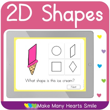 2D Ice Cream Shapes Interactive Pdf     MMHS14