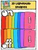 2D Lightbulb Shapes {P4 Clips Trioriginals Digital CLip Art}