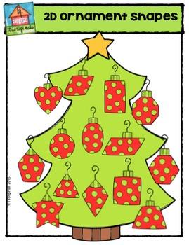 2D Ornament Shapes {P4 Clips Trioriginals Digital Clip Art}