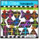 2D FUN LOTSA DOTS Gift Shapes {P4 Clips Trioriginals Digital CLip Art}