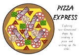 2D Pizza shape activity