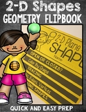 2D Plane Shape Geometry FlipBook