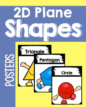 2D Plane Shape People