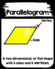 2D Plane Shapes with labels