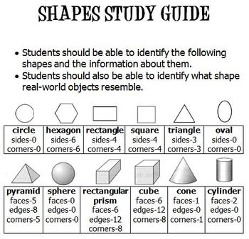 2D (Plane) and 3D (Solid) Shapes Activity and Assessment Pack