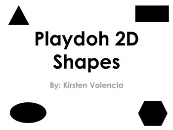 2D Playdoh Shapes
