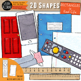 2D Rectangles in Real Life Clip Art