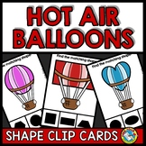 2D SHAPE ACTIVITY KINDERGARTEN (HOT AIR BALLOON SHAPE RECO