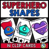 2D SHAPE ACTIVITY KINDERGARTEN (SUPERHERO SHAPE RECOGNITIO