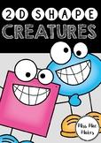 2D SHAPE CREATURES