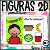 2D SHAPES BOOM CARDS (SPANISH) Distance Learning