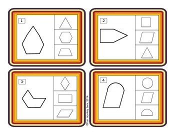 2D SHAPES CARDS