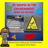 2D SHAPES IN THE ENVIRONMENT WORKSHEETS