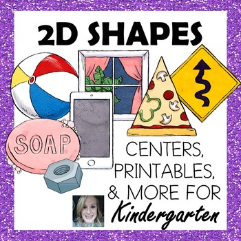 2D SHAPES- Includes Posters, Printables, Centers, and More!