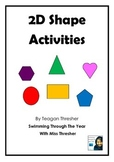 2D Shape Activies Freebie