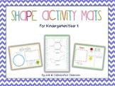 2D Shape Activity Mats - Geometry for K/1