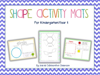 2D Shape Activity Mats - Geometry for K/1