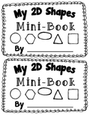 2D Shape Activity {My 2D Shapes Mini-Book} {Common Core Aligned 2D Shape Fun}