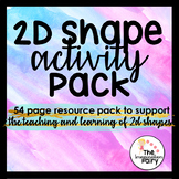 2D Shape Activity Pack