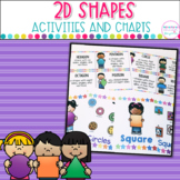2D Shapes  Posters, Games and Printables