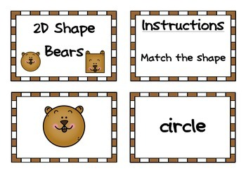 2D Shape Animals Match
