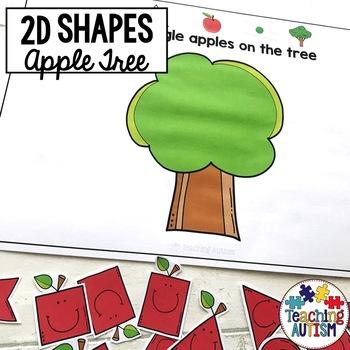 2D Shape Apple Trees