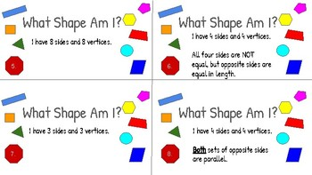 2D Shape Assessment/Scoot/Task Cards