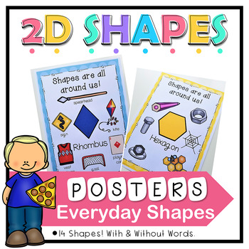2D Shape Attributes Posters