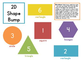 2D Shape BUMP!