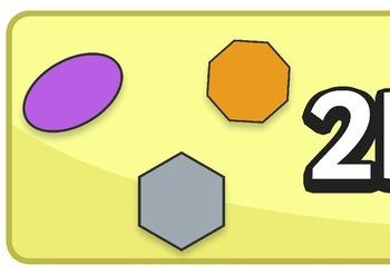 2D Shape Banner