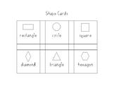 2D Shape Bingo