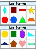 """2D Shape Bingo (""""Les formes"""")"""