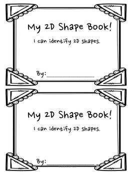 2D Shape Book (K.G.A.3)