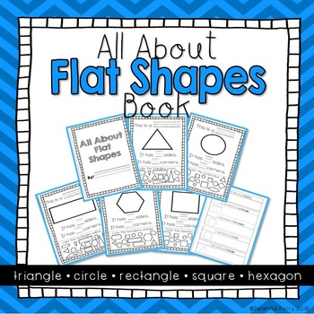Flat Shapes Book { K.G.4 }