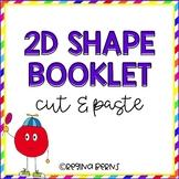 2D Shape Booklet - Cut/Paste