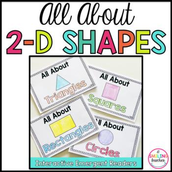 2D Shape Books Emergent Readers (Interactive)