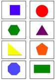 2D Shape Cards