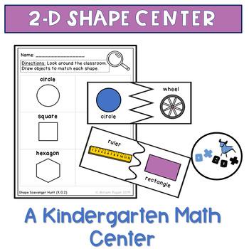 2D Shape Centers: Eureka Math Module 2 Topic A Center Activity