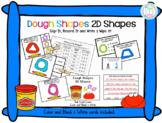 2D Shape Clip Cards: What's the 2D Shape?  Dough Shapes; Shape Recognition Cards