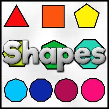 2D Shape Clipart