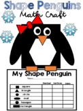 2D Shape Craft | Penguin Winter Shape Craft