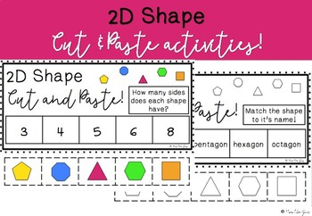 2D Shape Cut and Paste