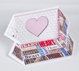 2D Shape Display Case: Heart