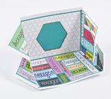 2D Shape Display Case: Hexagon