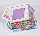 2D Shape Display Case: Rhombus