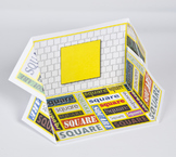 2D Shape Display Case: Square