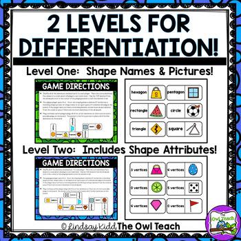 how to teach 2d shapes