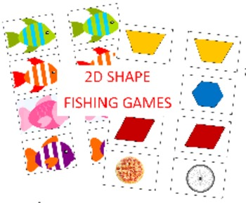 2D Shape Fishing Games