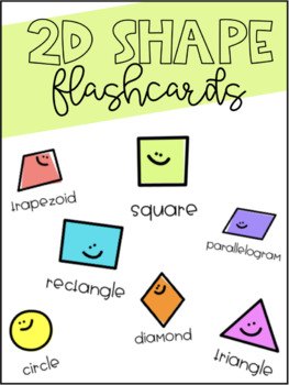 2D Shape Flashcards